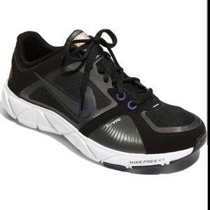 Nike Free XT Quick Fit Cross Training Black/White